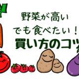 野菜 高い 買い方のコツ