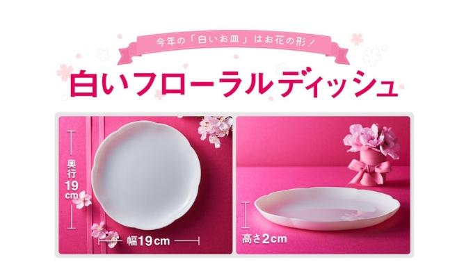 白いお皿 パンまつり