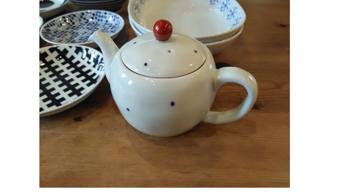 波佐見陶器市の戦利品 ティーポット